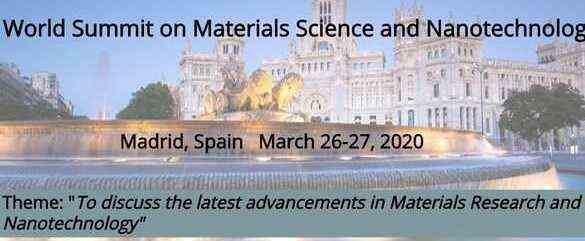 World Summit on Materials Science & Nanotechnology