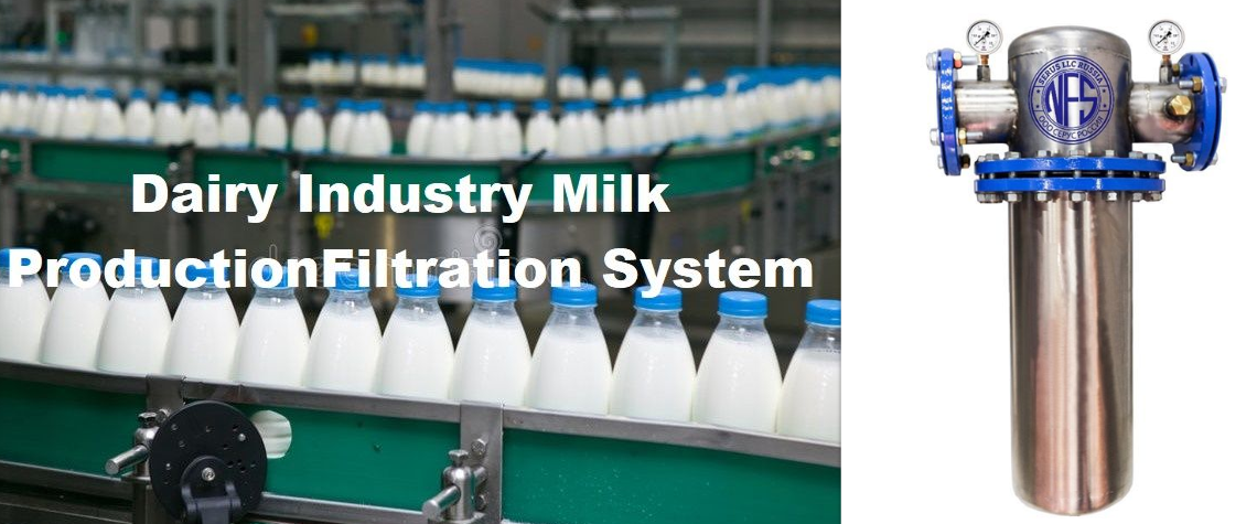 Dairy Milk Filtration & Waste Water Treatment Plant In Dairy Processing